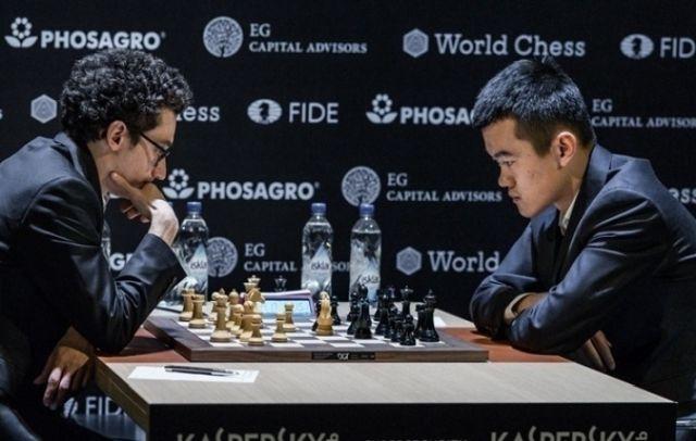 Caruana vs Ding Liren