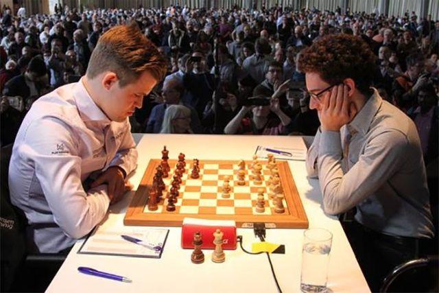 "Caruana se le ""escapó"" a Carlsen"