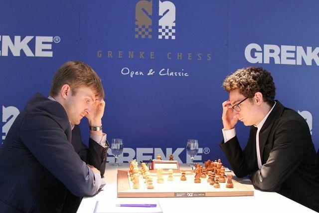 Vitiugov no pudo con Caruana